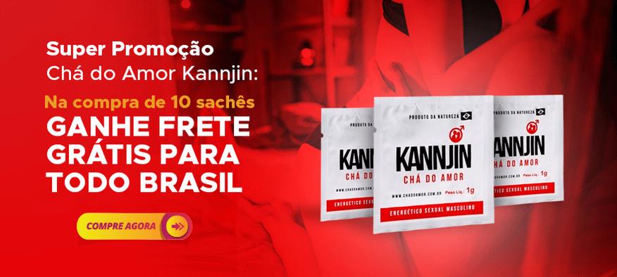 Super promoção Chá do Amor Kannjin com frete grátis