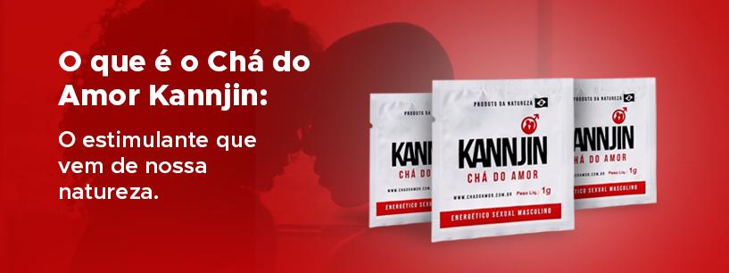 Chá do Amor Kannjin - Energético Sexual