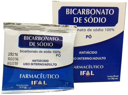Bicarbonato de Sódio Ifal 30g