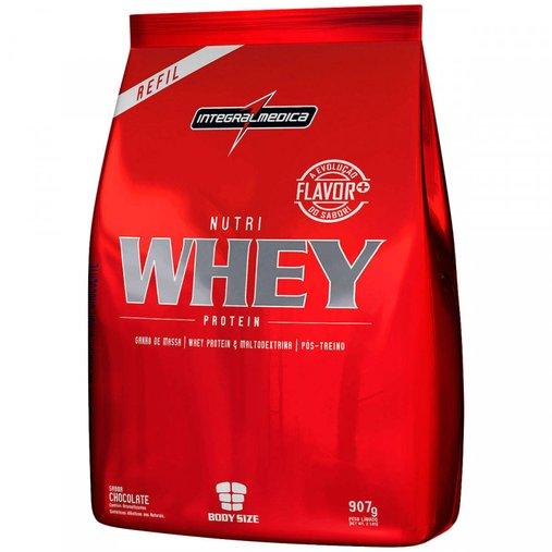 Nutri Whey Protein Chocolate Integral Medica 907g