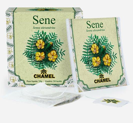 Sene Chamel 10 Sachês 15g