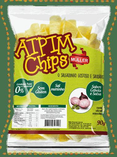 Aipim Chips Cebola e Salsa Muller 90g