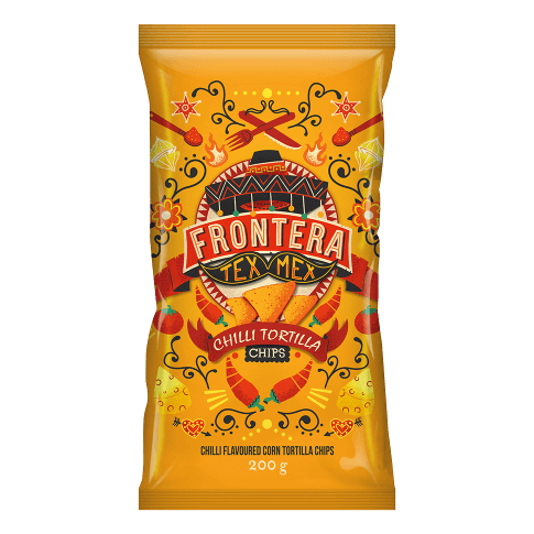 Tortilha de Milho sabor Picante Frontera 200g