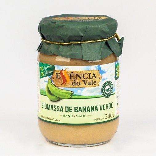 Biomassa de Banana Verde Essência do Vale 240g