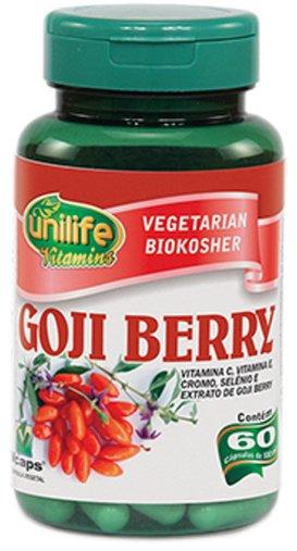 Goji Berry 500mg Unilife 60 Cápsulas