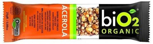 Barra Bio2 Organic Acerola 25g