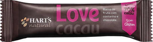 Barra Harts Natural Love Cacau 35g