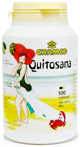 Quitosana Chamed 600 mg 100 Cápsulas