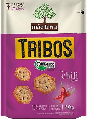 Biscoito Tribos Orgânico Chili Mãe Terra 50g