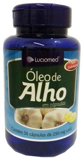 Óleo de Alho Luciomed 250 mg 60 Cápsulas