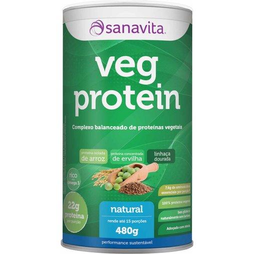 Veg Protein Natural Sanavita 480g