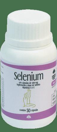 Selenium 500mg Medinal 60 Cápsulas