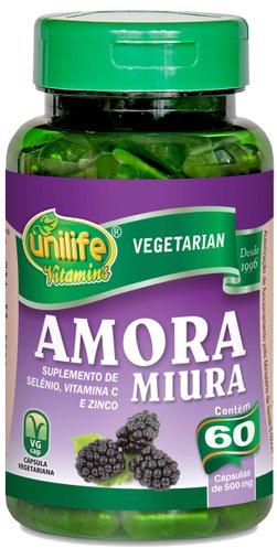 Amora Miura 500mg Unilife 60 Cápsulas