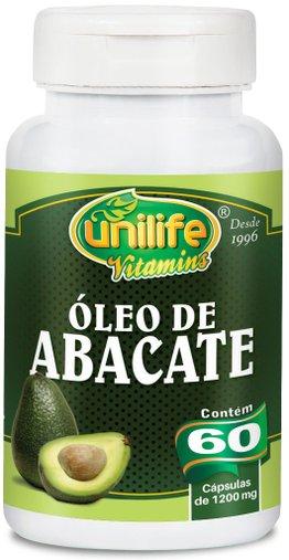 Óleo de Abacate 1200mg Unlife 60 Cápsulas