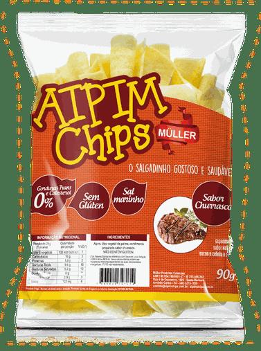 Aipim Chips Churrasco Muller 90g