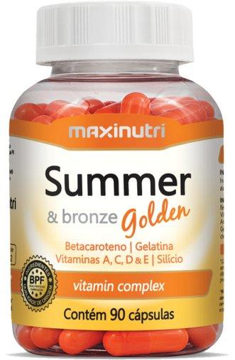 Summer Bronze Golden Maxinutri 585 mg 90 Cápsulas