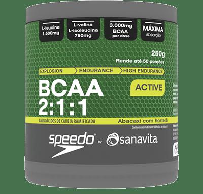 BCAA 2:1:1 Abacaxi com Hortelã Sanavita 250g