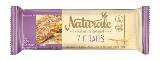Barra de Cereal 7 Grãos Naturale 22g