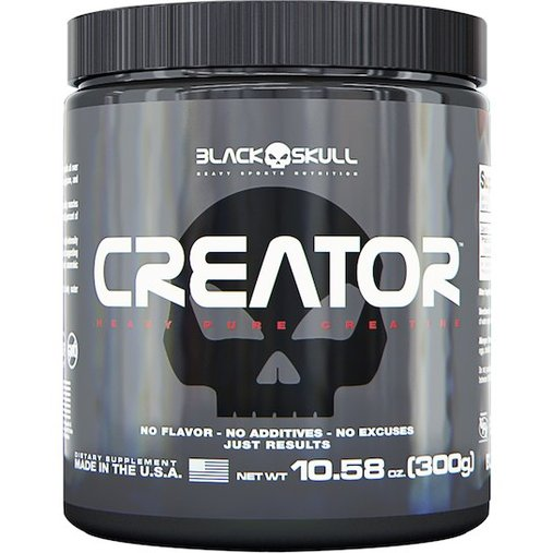 Creator Creatina Natural Black Skull 300g