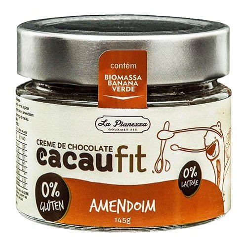 Creme de Chocolate Cacau Fit Amendoim La Pianezza 145g