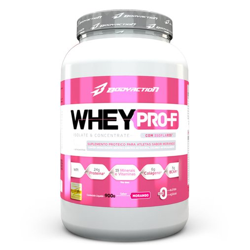 Whey Pro-F Morango Body Action 900g