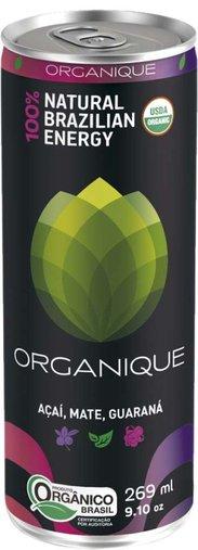 Energy Drink Açaí, Guaraná e Mate 100% Natural Organique 269mL