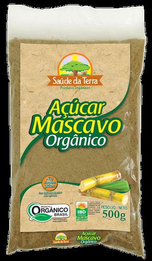 Açúcar Mascavo Orgânico Da Colonia 500g
