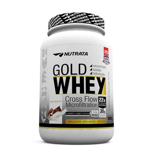 Gold Whey 3W Chocolate Nutrata 900g