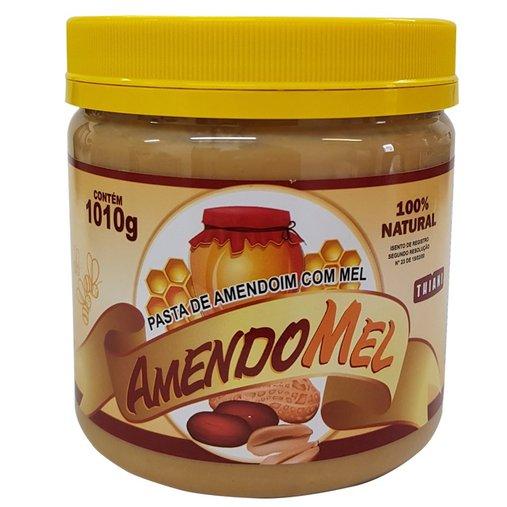 Pasta de Amendoim Mel Amendomel Thiani 1Kg