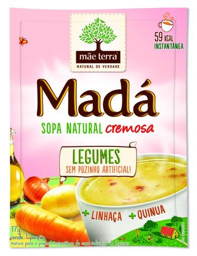 Sopa Madá Legumes Mãe Terra 17g