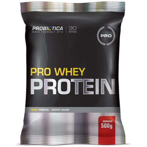 Pro Whey Protein Morango Probiótica 500g