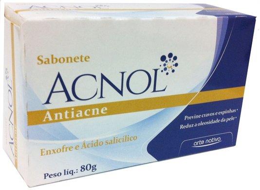 Sabonete Acnol Anti Acne Arte Nativa 80g
