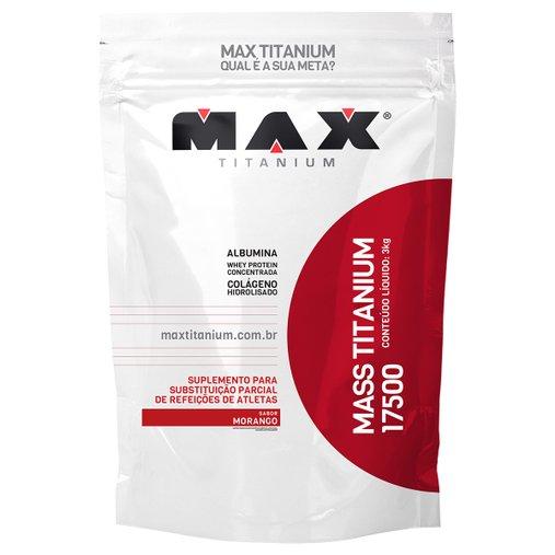 Mass Titanium 17500 Morango Max Titanium 3Kg