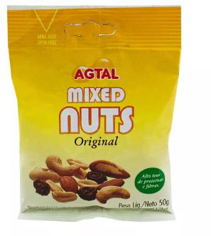 Mixed Nuts Original Agtal 50g