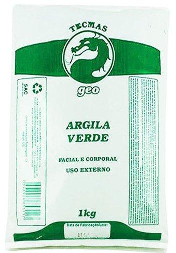 Argila Verde 1kg - Tecmas Geo
