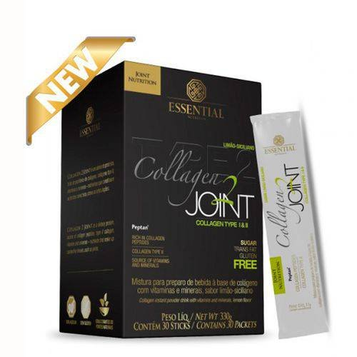 Collagen Joint Limão 30 Sticks Essential Nutrition 330g