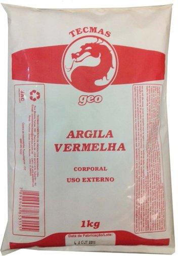 Argila Vermelha Tecmas Geo 1kg