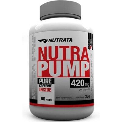 Nutra Pump Nutrata Cafeína 420mg 60 Cápsulas