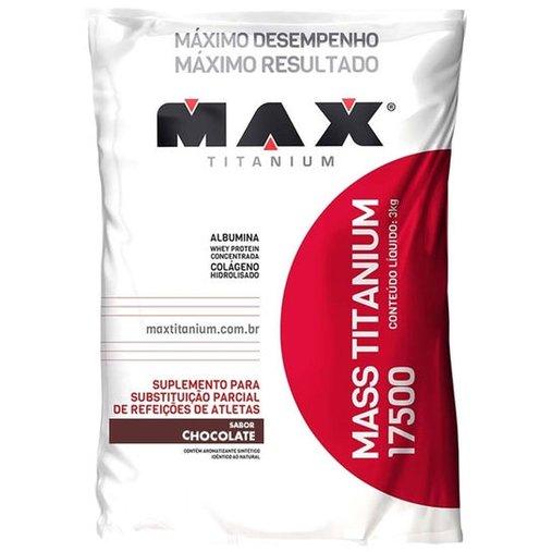 Mass Titanium 17500 Chocolate Max Titanium 3kg