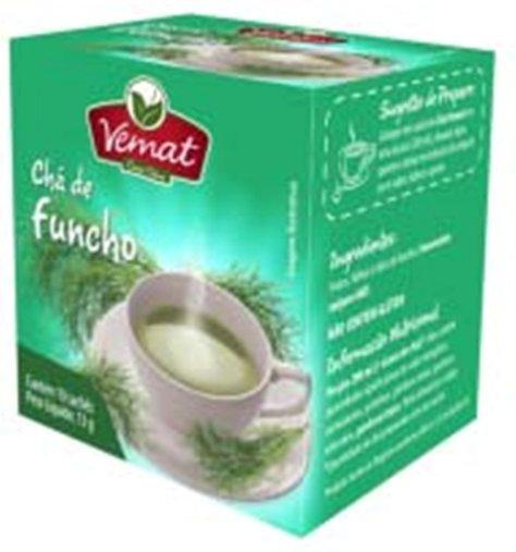 Chá de Funcho com 10 Sachês Vemat 13g