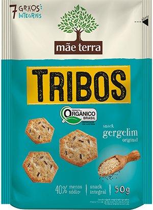 Biscoito Tribos Orgânico Original Multigrãos Mãe Terra 50g