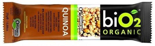 Barra Bio2 Organic Quinoa 25g
