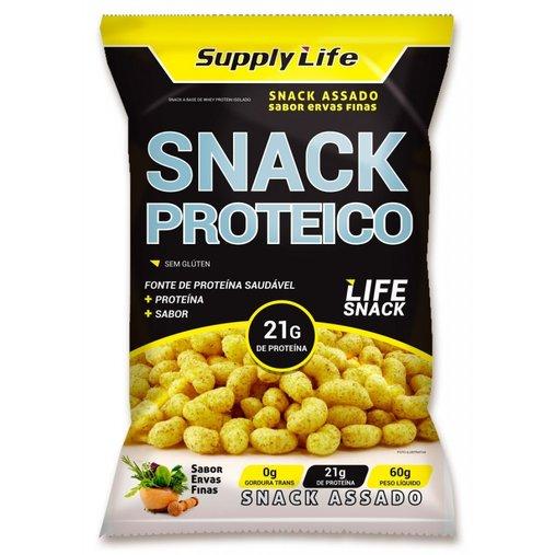 Snack Proteico de Ervas Finas Supply Life 60g