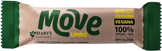 Barra Proteína Vegana Harts Natural Move Limão 35g