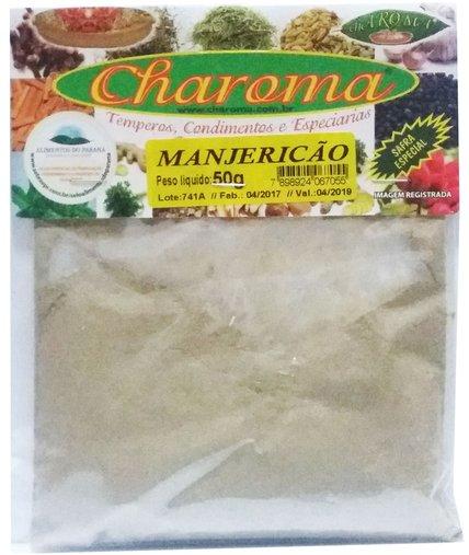 Manjericão em Pó Charoma 50g