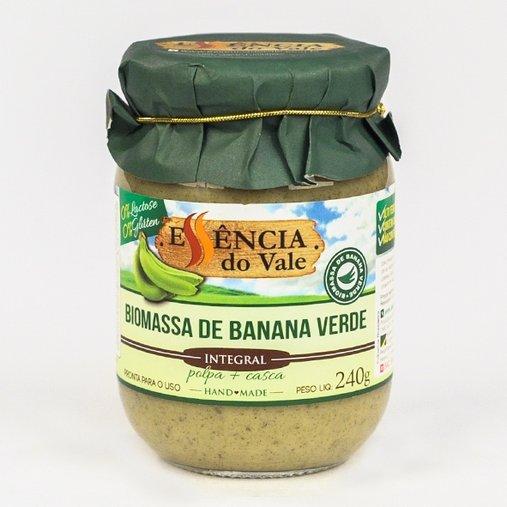 Biomassa de Banana Verde Integral Essência do Vale 240g