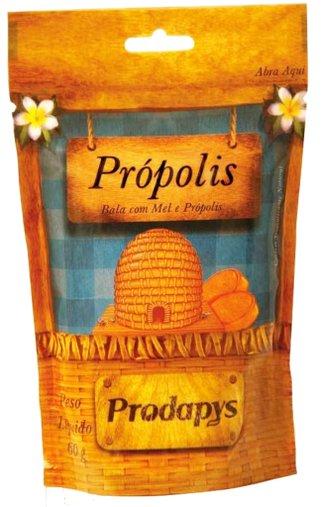 Bala com Mel e Própolis Prodapys 60g