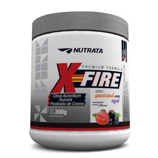 X Fire Thermogênico com Guaraná Nutrata 200g