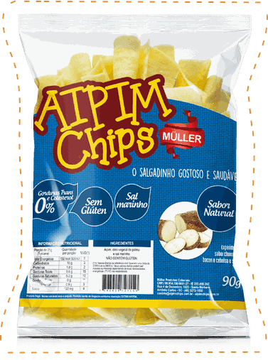 Aipim Chips Natural Muller 90g
