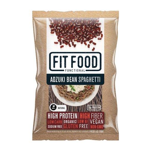 Espaguete de Feijão Azuki Vegano Sem Glúten Fit Food 200g